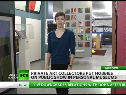 Moscow's private galleries : from classic cars to modern art