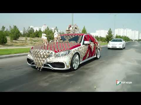 Turkmen Wedding of Toymyrat & Mayagozel 09.08.2019..Туркменская свадьба.. Türkmen toý