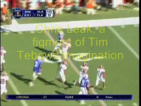 Tim Tebow Imagined Chris Leak