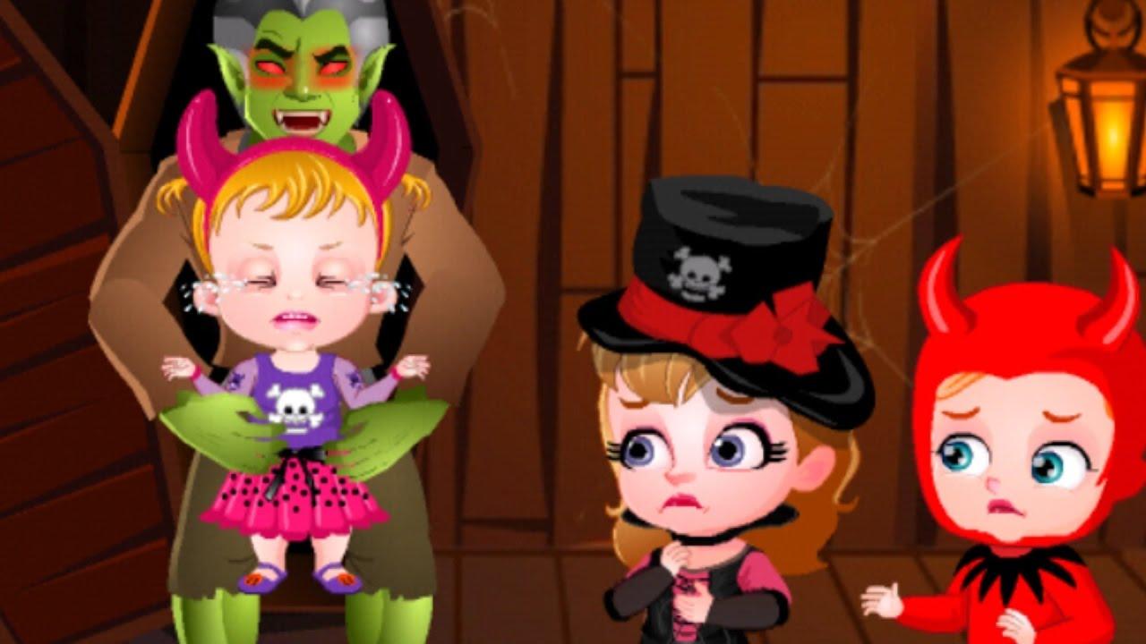 Baby Hazel Halloween Castle Video Game For Kids Youtube