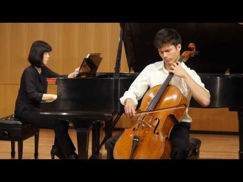 Derek Louie, cello.  Dvorak Silent Woods,