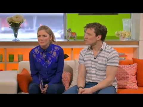 Holby City's Guy Henry & Jing Lusi on Channel Four's What's Cooking Friday 22nd March 2013