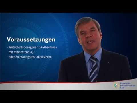 Masterstudiengang 'Digital Business Management' an der RFH Köln
