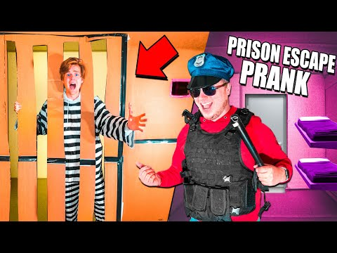I Trapped Logan in a Box Fort Prison Escape For 24 Hours (Revenge Prank)