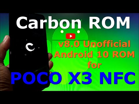 Carbon ROM v8.0 for Poco X3 [surya] Android 10