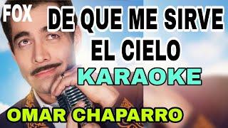 Download KARAOKE   De Que Me Sirve El Cielo - Omar Chaparro