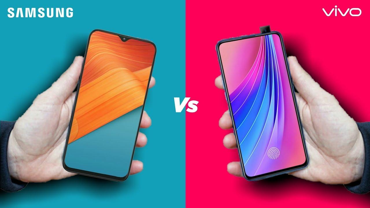 Samsung Galaxy A50 vs Vivo V15 Pro : Full Comparison - YouTube