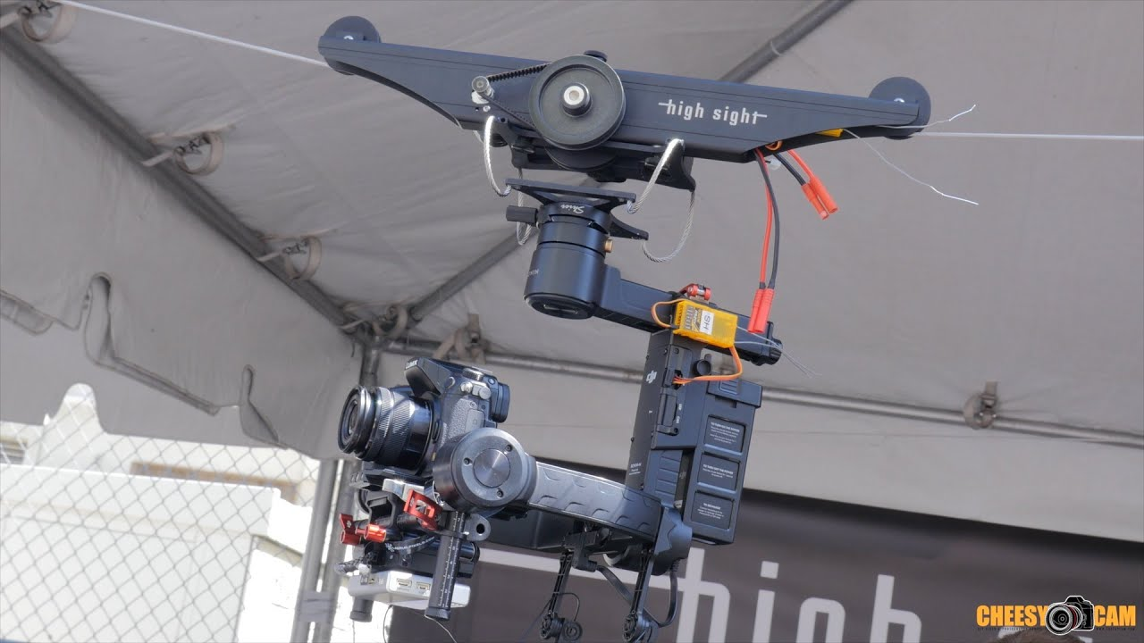 High Sight Cable Cam Cinegear 2016 Youtube