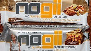 Elisabeth Hasselbeck's Nogii Paleo Bars: Nuts About Nuts And Peanut Butter & Chocolate Review