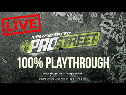 Need For Speed: Pro Street - Starting Out (100% Playthrough)