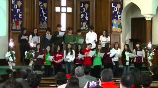 2015년 교회학교 성탄 발표회 (중고등부)