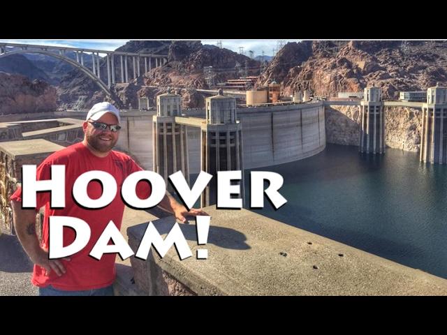 The Hoover Dam @ Night