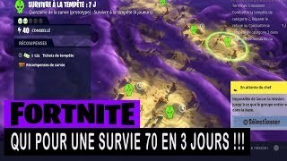 FORTNITE - SAUVER THE WORLD - WHAT FOR A Survival 70 IN 3 DAYS !!!