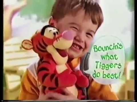 Bounce Around Tigger 1998 Commercial