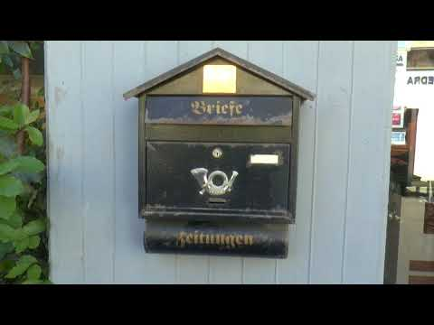 letter  box in Nicosia, Cyprus