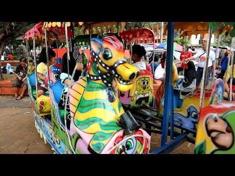 Naik Odong Odong Lihat Topeng Monyet | Itsy Bitsy Spider Song Old Macdonald Song