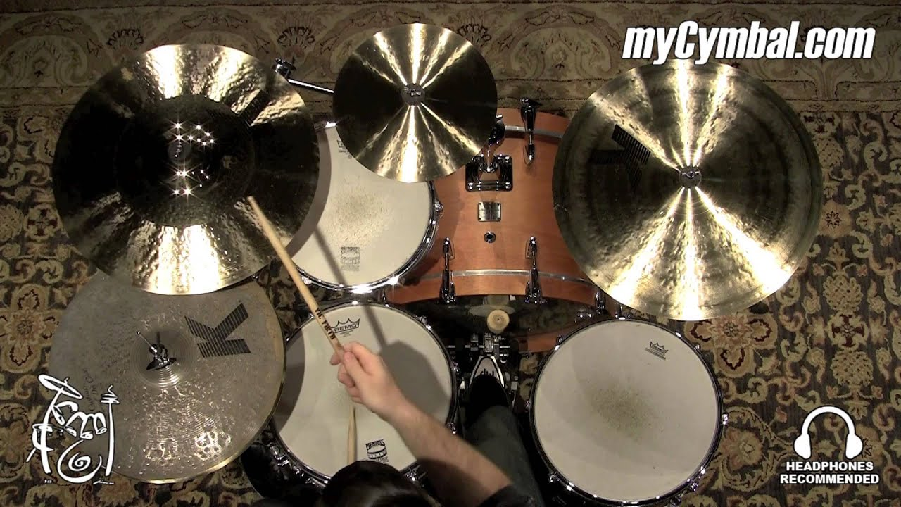 Zildjian 19 K Custom Hybrid Crash Cymbal 1627g K1219 1081215x