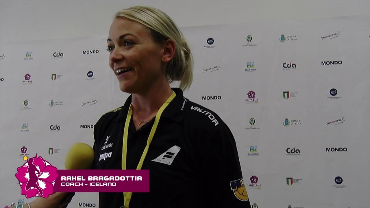 W17 EHF Championship - Interviews TUR - ISL 22-32