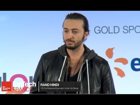 How will AI take over technology? Rand Hindi at EmTech France