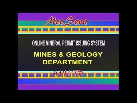 140220_Online Mineral Permit Issuing System