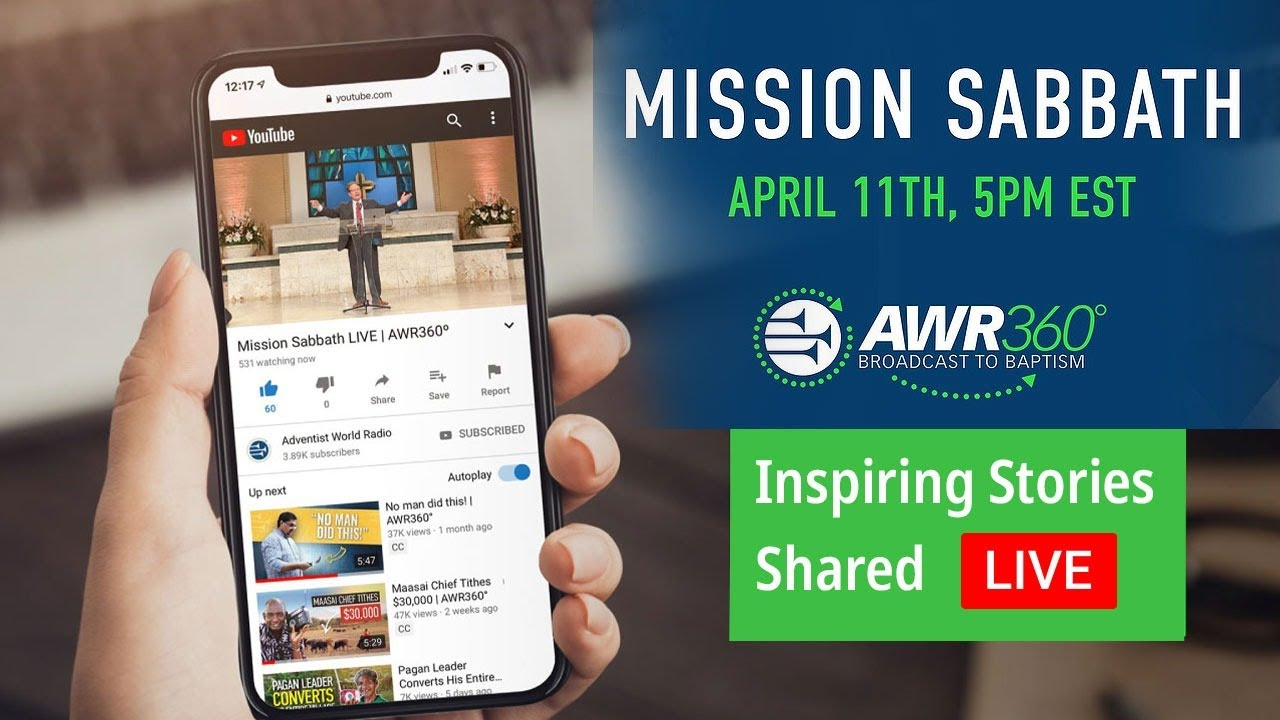 AWR Mission Sabbath Live