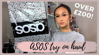 HUGE ASOS TRY ON HAUL | SHOES AND JEANS | TALL