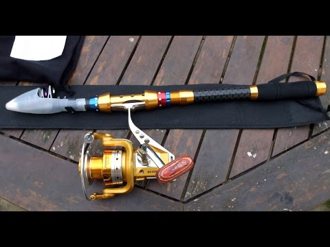 Supertrip Telescopic Fishing Rod and Reel Combo - visual tour