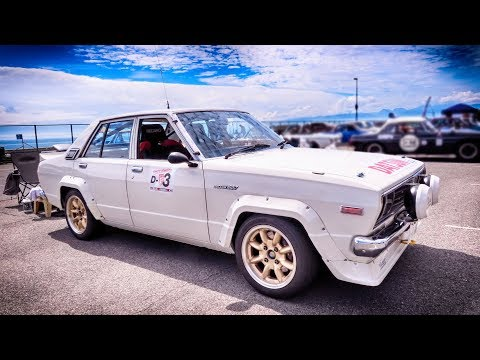 DATSUN 160J | 日産 バイオレット 1600 Rally #Gymkhana #SHCC 大磯ミーティング #SOUND