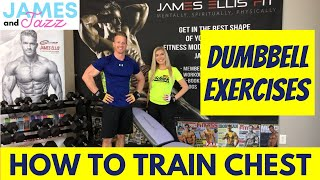 How To Train Chest || Dumbbell Exercises || Exercise Demonstrations || Bench Press || Chest Fly