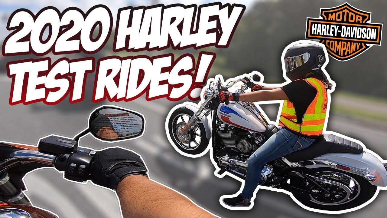 2020 Harley-Davidson Low Rider + Sport Glide TEST RIDE! (Ft. Ana)