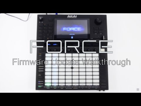 Akai Pro Force - Firmware Version 3.0.1 Installation Walkthrough