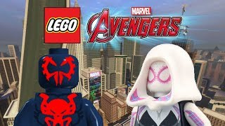 Creating Spider Man 2099 and Spider Gwen! | LEGO Marvel's Avengers Customs