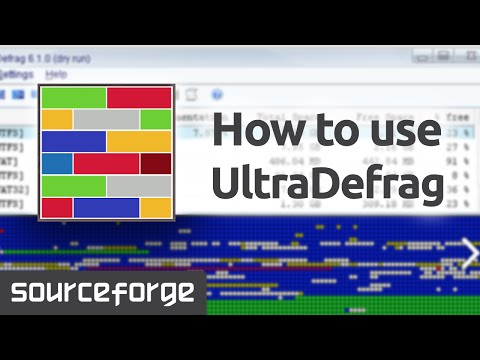How To Use UltraDefrag For Windows