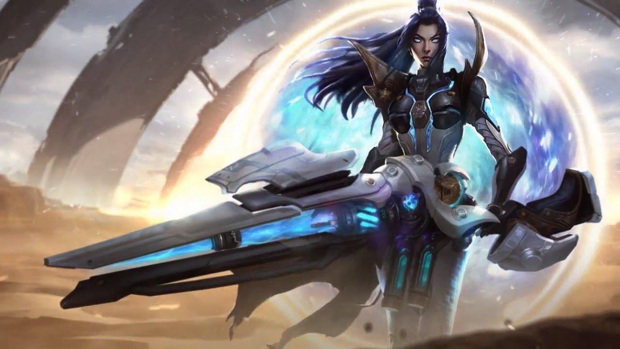 Pulsefire Caitlyn Login Screen League Of Legends Wallpaper