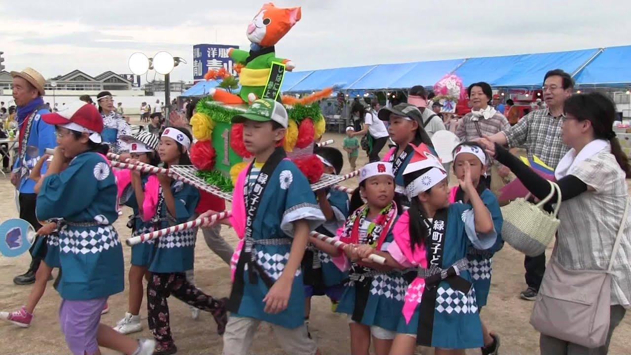 子供みこし 今宿夏祭り 子供みこし 2014 8 16