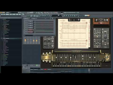 VST virtual gitar  Sugar bytes gitarist test, example #4  ( FL Studio )