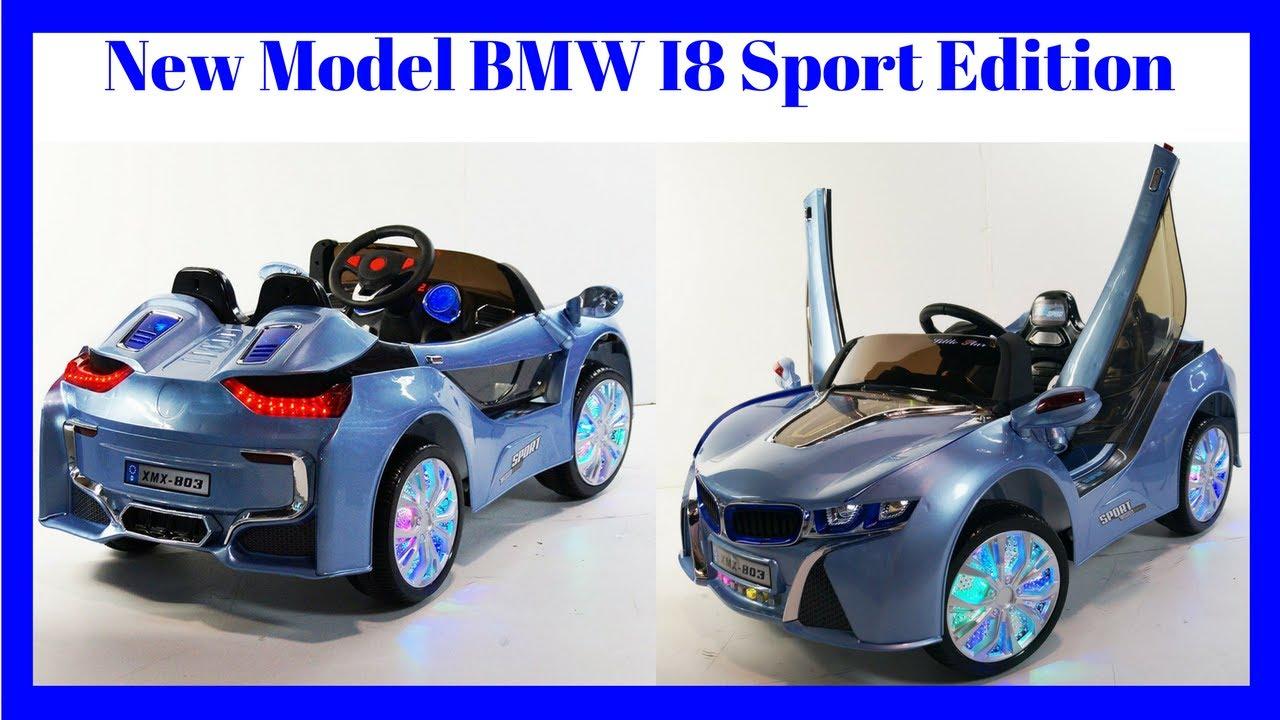New Model 2016 Bmw I8 Sport Edition Vision Style 12v Kids Ride On