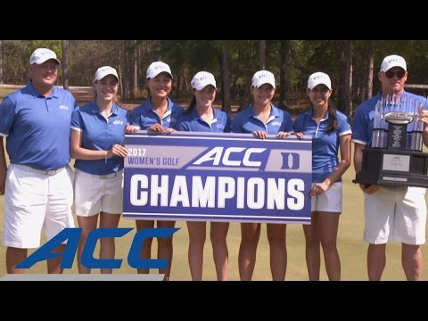 Duke Wins 2017 ACC Women's Golf Championship