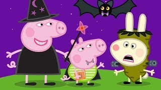 Peppa Pig Português Brasil | Feliz Dia das Bruxas! | HD | Desenhos Animados