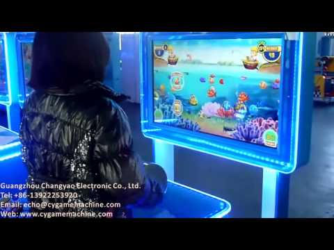 Go fishing kids game machines arcade games popular for Arcade fish shooting games