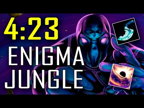 Best Enigma Jungle Guide 7.05 - 4:23 (lvl 6) Black Hole - 6:17 (Blink) Radiant IRG Dota 2
