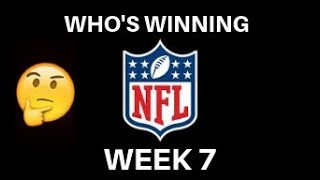 Swagner Predicts NFL Week 7