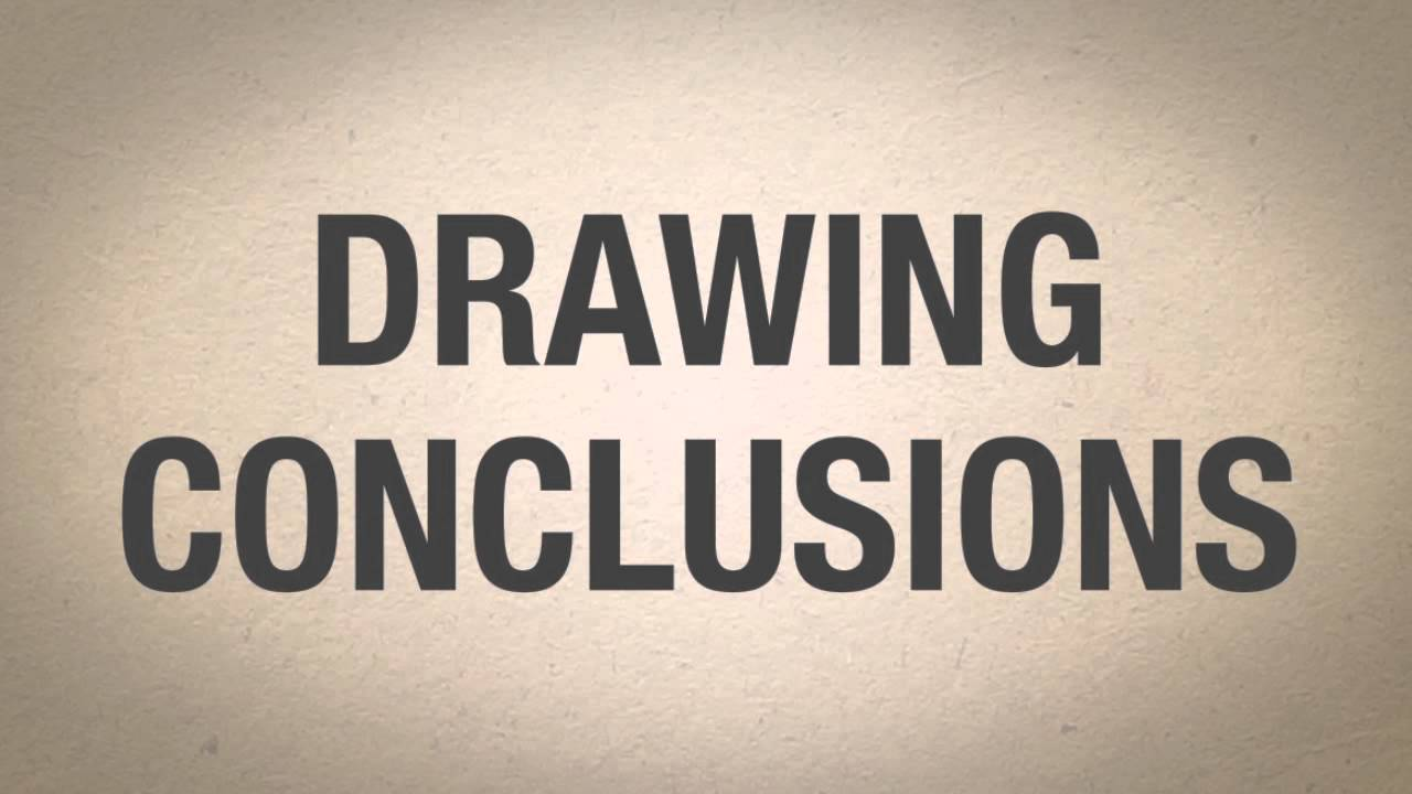 hight resolution of Drawing Conclusions - YouTube