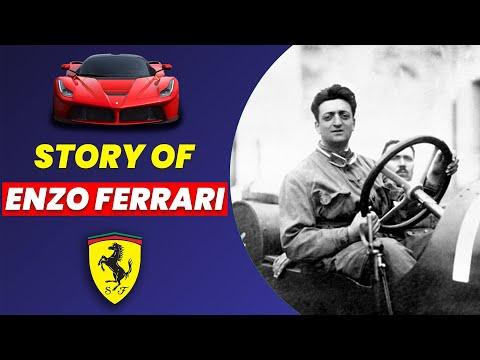 Story of founder of Ferrari, Enzo Ferrari