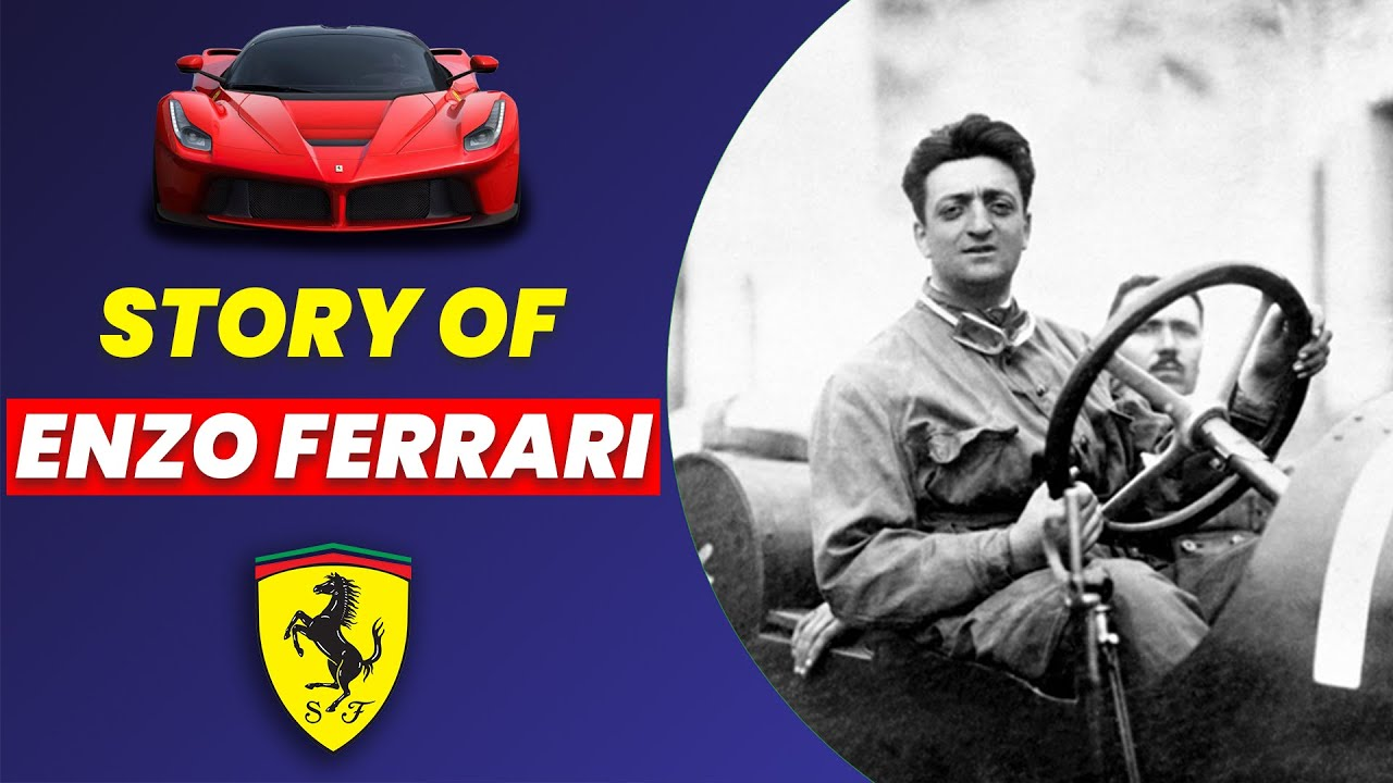 Story Of Founder Of Ferrari Enzo Ferrari Youtube
