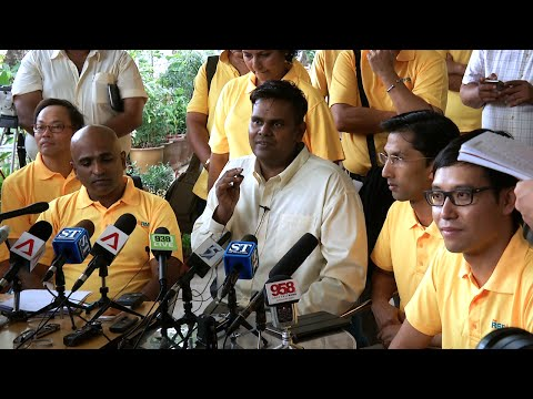Reform Party - Ang Mo Kio GRC Press Conference - Candidates