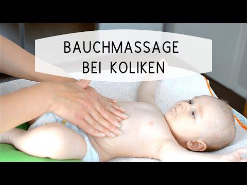Baby-Koliken: Bauchmassage Bei Dreimonatskolik Teil II
