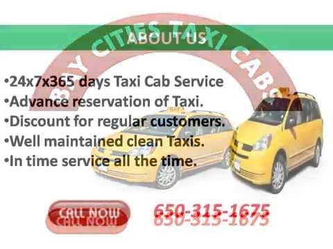 Airport Taxi Cab in San Carlos