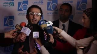 بالفيديو| أحمد حلمي ومني ذكى و دينا سمير غانم سفراء للنوايا الحسنة