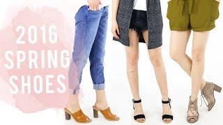 2016 Spring Shoe Guide | Shoe Haul & Product Review | 2016 Shoe trends | Miss Louie